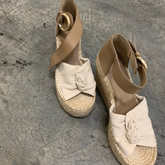 e1ed13314a6 Marc Fisher Anty Wedge Platform Sandals in Natural